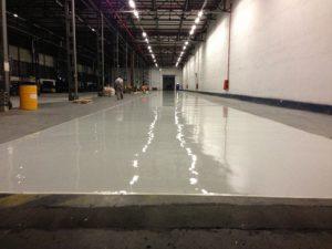 Reconditionare podea de beton