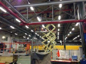 Consolidare structura metalica